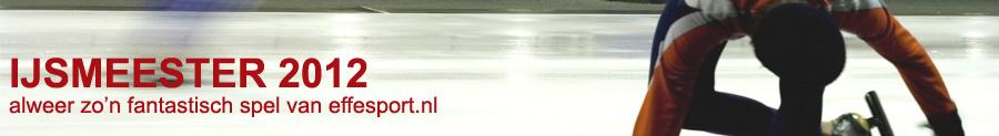 IJsmeester 2012 - gratis schaatsspel