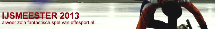 IJsmeester 2013 - gratis schaatsspel