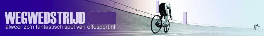 wegwedstrijd 2016 - het wielerseizoen spel